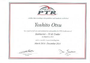PTR Otsu